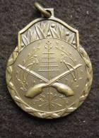 M01239 Tir Schot Schuss, Carabines Cible En L´air Lauriers (6 G.) - Jetons & Médailles