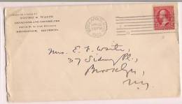 USA Commercial Cover,  Stamp, Postal Markings, Stone Company (100158) - Brieven En Documenten