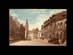 59 - LA GORGUE - Rue De L'Eglise - Carotte Tabac - Francia