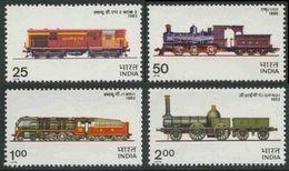 India Indien 1976 Mi 673 ** Type WDM Diesel Locomotive (1963) / Typ WDM 2, 1963 - Treinen