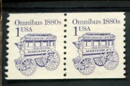 209416336 USA POSTFRIS MINT NEVER HINGED POSTFRISCH EINWANDFREI SCOTT  2225b  Dull Gum Transportation Omnibus - Nuovi