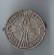 Insigne Religieux/ Ecce Panis Ange Lorum/Calice/ Weibel/ Vers 1930        D216 - Religion & Esotérisme