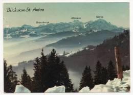 - Blick Vom St. Anton - Scan Verso - - AI Appenzell Rhodes-Intérieures