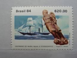 """Brésil 1984- """"100 Ans Du Musé Naval Et Océanographique """"  1v.  N°1645 - Bateaux"""