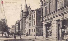Ak Elbing, Elbląg, Am Lustgarten, 1915, Selten - Polen