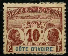 Côte D'ivoire (1906) Taxe N 2 * (charniere)