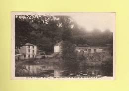*  CPA..( Dépt 49 )..LE FIEF - SAUVIN : Les Bords De L' Evre Au Moulin De Haute - Brin  - ( 2 Scans ) - Wassermühlen
