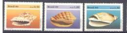 1989. Corals, 3v, Mint/** - Brésil
