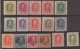 ES310-L2171TO. Spain Espagne ALFONSO XIII TIPO VAQUER 1922/30 (Ed.310/23**) Sin Charnela .MAGNIFICA - Otros