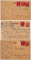 DR  P 125  3 Postkarten  Bad Kissingen 1920 - Deutschland