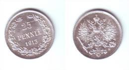 Finland 25 Pennia 1913