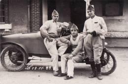 SOLDATS ET BELLE VOITURE , 19 Novembre 1933 - Ausrüstung