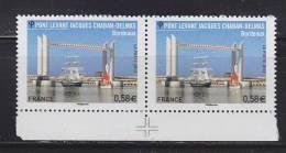 = Pont Levant Jacques Chaban-Delmas, Bordeaux, Passage Du Belem, 0.58€ Paire 4734 Neuf Avec Repère - France