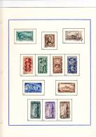 ITALIA REPUBBLICA 1945-1965  Usata (eclusi Ginnici E Gronchi Rosa) Compresa PA Ed Espressi - Italia