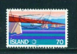 ICELAND - 1978 Skeidara Bridge 70k Used (stock Scan) - Used Stamps