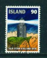 ICELAND - 1978 Lighthouse 90k Used (stock Scan) - Used Stamps