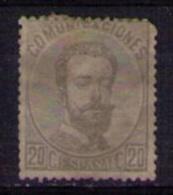 ESPAÑA 1872 - EDIFIL Nº 123 USADO - CATALOGO 106 EUROS - 1872-73 Reino: Amadeo I