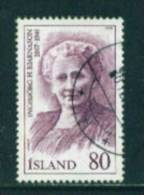 ICELAND - 1979 Famous Icelanders 80k Used (stock Scan) - Used Stamps