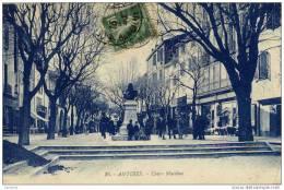 06-ANTIBES-Cours Masséna-animée - Non Classés