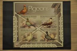 H 263 ++ REP. BURUNDI 2012 VOGELS BIRDS DUIF PIGEON POSTFRIS MNH ** - 2010-..: Ongebruikt