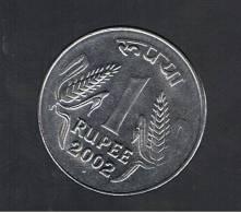 INDIA  -  1 Rupia  2002  (ceca Punto)  KM718 - India