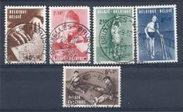 130202414  BELGICA  YVERT  Nº  1225/1226/1227/1229/1230 - Used Stamps