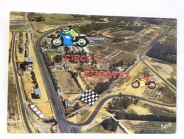 CPM  - 72 Sarthe - LE MANS - Le Circuit Bugatti, Lieu D'essais Et De Compétitions - Motorfietsen