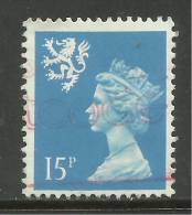 SCOTLAND GB 1989 15p Bright Blue Used Machin SG S56.( K455 ) - Regional Issues