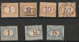 1870-segnatasse-sass 1-4-6-9-11-12-13 - 1861-78 Victor Emmanuel II.