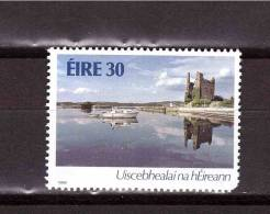 1986 IRELAND  Rivers Navigation Michel Cat N° 598   MNH ** Defect On The Corner - Ireland