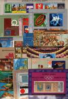 Block-Lot Olympia Musik CEPT Theater Kunst Oper Museum Jemen 16 Blocks+ Kleinbogen O 99€ Bloc Painting Sheetlet Of Yemen - Yémen
