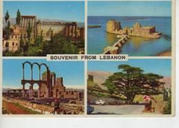 LEBANON  LIBANO  SOUVENIR FROM LEBANON DIFERENTS  VIEWS    OHL - Libanon