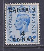 Bahrain, Scott # 77 Used King Surcharged, 1950 - Bahrain (...-1965)