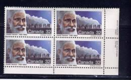 CANADA, 1983, # 997, CANADIANS PIONNERS: JOSIAH HENSON - Blocs-feuillets