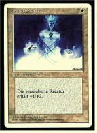 Karte Magic The Gathering  -  Verzauberte Kreatur  -  Heilige Stärke  -  Deutsch - Magic The Gathering