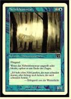Karte Magic The Gathering  -  Kreatur Elementarwesen -  Nebelelementar  -  Deutsch - Magic The Gathering