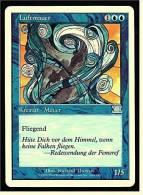 Karte Magic The Gathering  -  Kreatur Mauer -  Luftmauer  -  Deutsch - Magic The Gathering