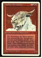 Karte Magic The Gathering  -  Beschwörung Von Minotauren  -  Hurloon Minotaurus  -  Deutsch - Magic The Gathering