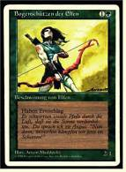 Karte Magic The Gathering  -  Beschwörung Von Elfen  -  Bogenschützen Der Elfen  -  Deutsch - Magic The Gathering