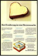 Reklame Werbeanzeige  ,  Becel Margarine  -  Ihre Ernährung Ist Eine Herzenssache  ,  Von 1973 - Andere Sammlungen