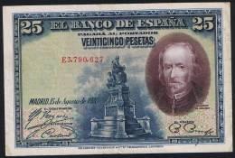 25 Pesetas EDIFIL N° C4 CALDERON DE LA BARCA - [ 2] 1931-1936 : Republiek