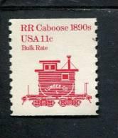 209495936 USA 1991 ** MNH SCOTT  1905A UNTAGGED Transportation RR CABOOSE 1890S - Nuovi