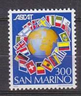 PGL AR0175 - SAN MARINO SAINT MARIN SASSONE N°1107 ** - San Marino