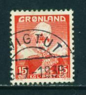 GREENLAND - 1938 Christian X 15o Used (stock Scan) - Greenland