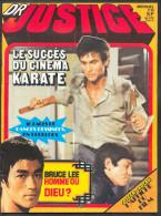 No PAYPAL !! : Docteur Justice 13 Marcello Dr JUSTICE + Film ,Bruce LEE Dragon Rouge (Sans Poster) Éo 1976 Vaillant TTBE - Autre Magazines