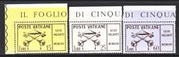 Vatican  247-9    ** - Unused Stamps