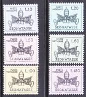 Vatican  J 19-24   ** - Postage Due