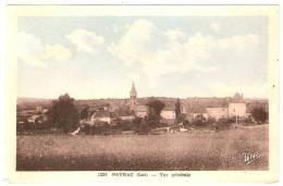 PAYRAC Vue Générale Cachet Daguin (Mys) Lot (46) - Autres Communes