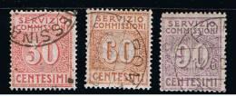 1913 - ITALY - ITALIA - ITALIE - AU3 - No,3  OBLITERATED STAMPS - FRANCOBOLLi TIMBRATI - Usati