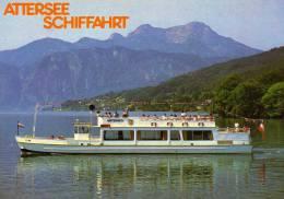 02107 - Motorschiff UNTERACH Auf Dem Attersee - Non Classés